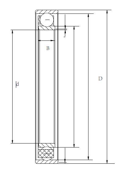 谐波减速机柔性轴承