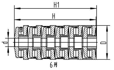 串列推力圆柱滚子轴承